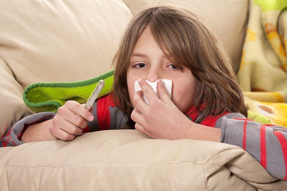 Формы гриппа у детишек различного возраста