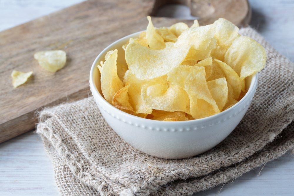 10. Картофель фри и чипсы