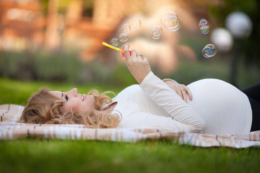 Пребывание на солнце в последнем триместре беременности
