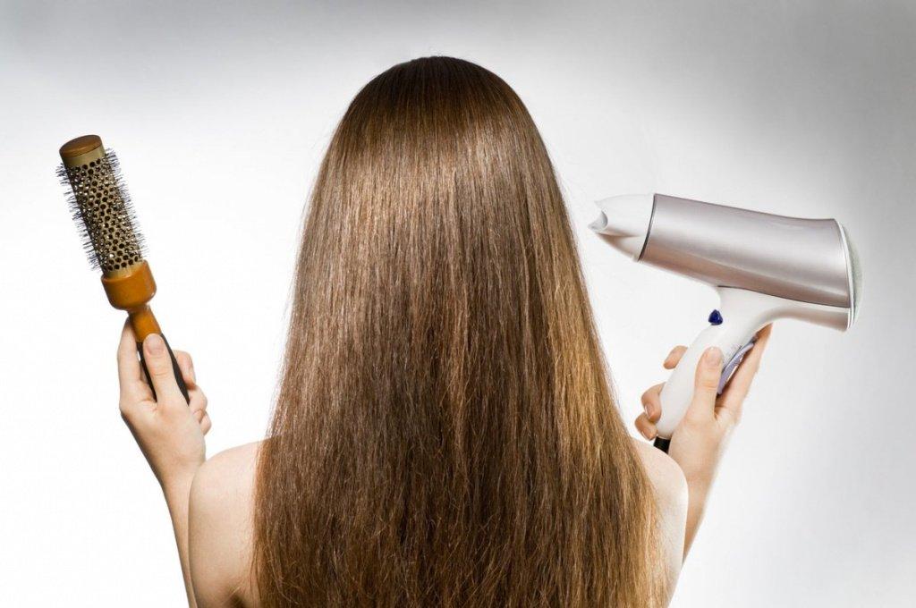 Не перегружайте волосы стайлингом