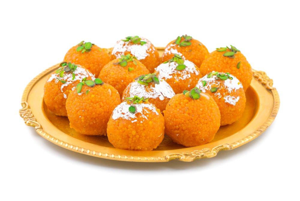 Ладду — сладкий десерт из Индии