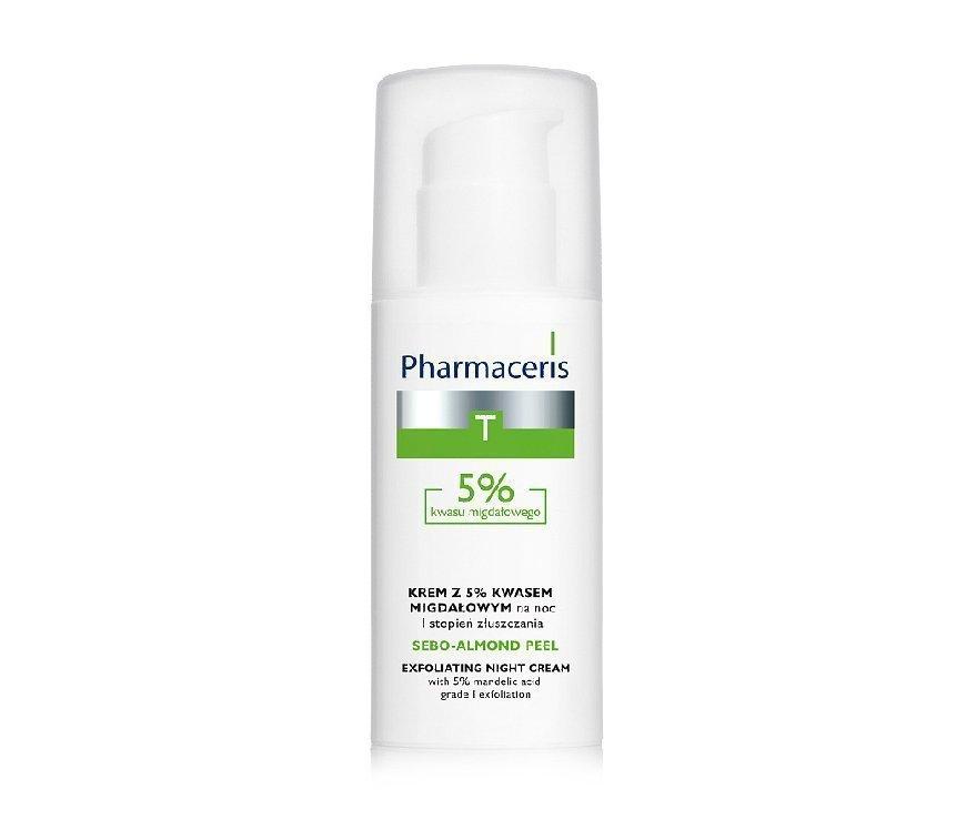 Ночной крем-пилинг с 5% миндальной кислотой, Pharmaceris T Sebo-Almond-Peel Exfoliting Night Cream Источник: healthplanet.by