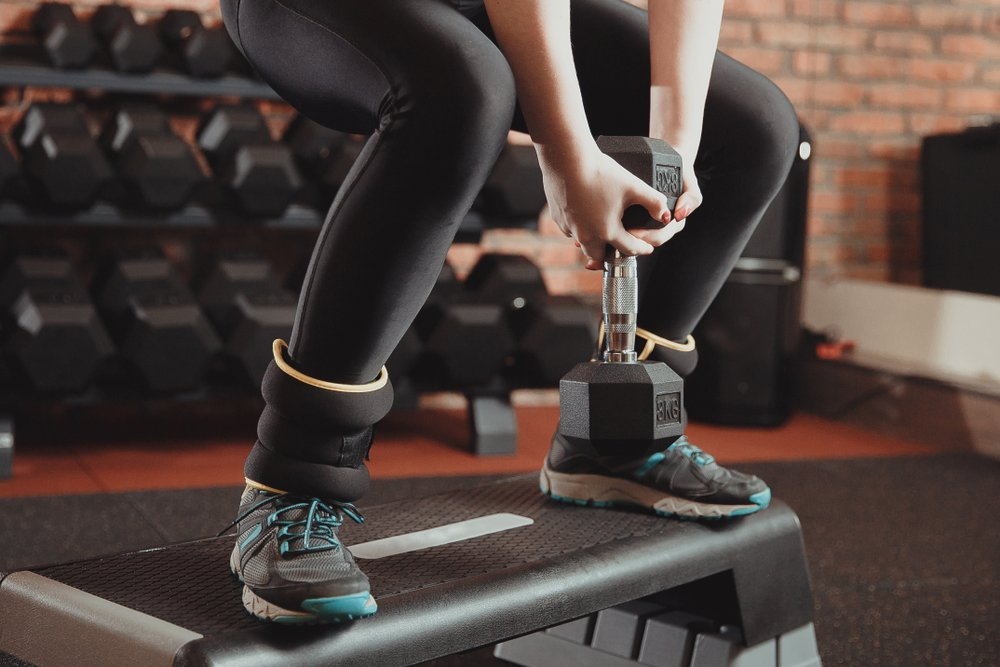 Комплекс упражнений с гантелями