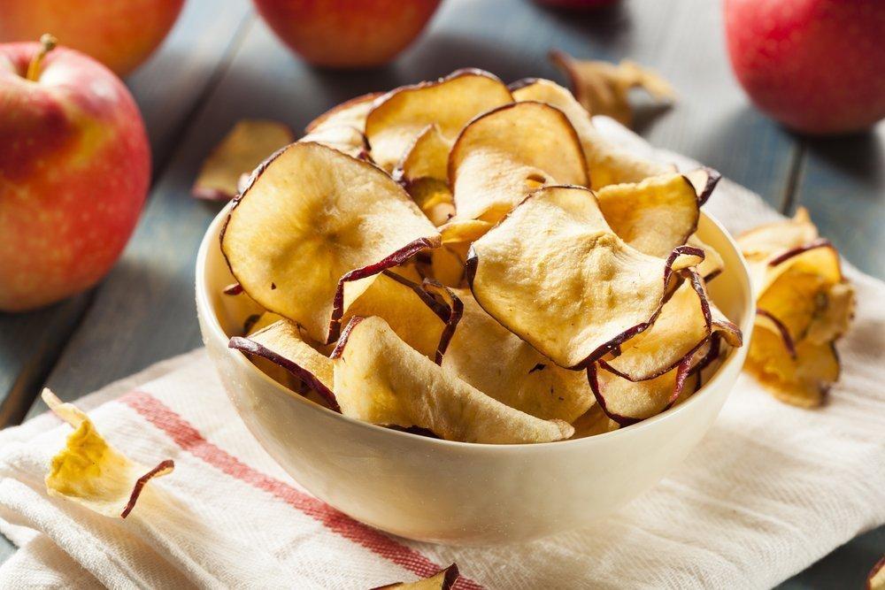 Яблочные чипсы — полезная вкуснятина своими руками