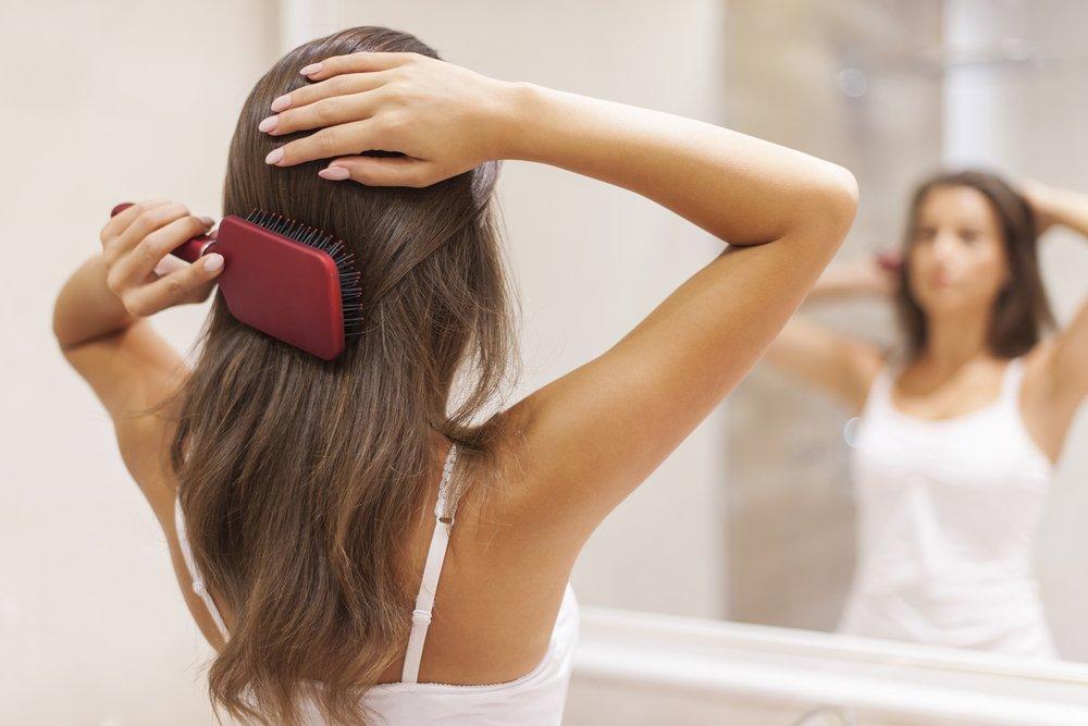 Волосы до беременности и после