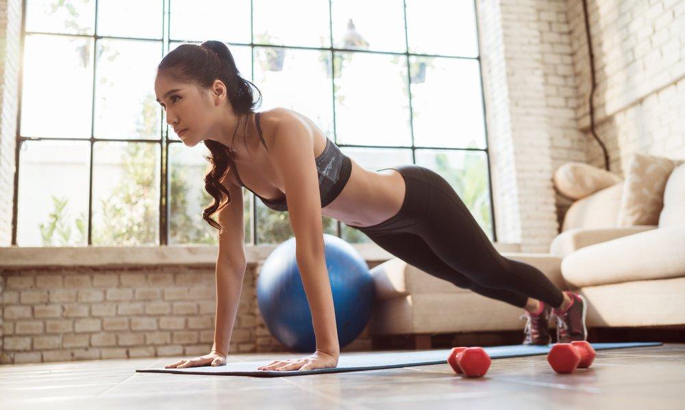 Домашние упражнения для эффективного похудения