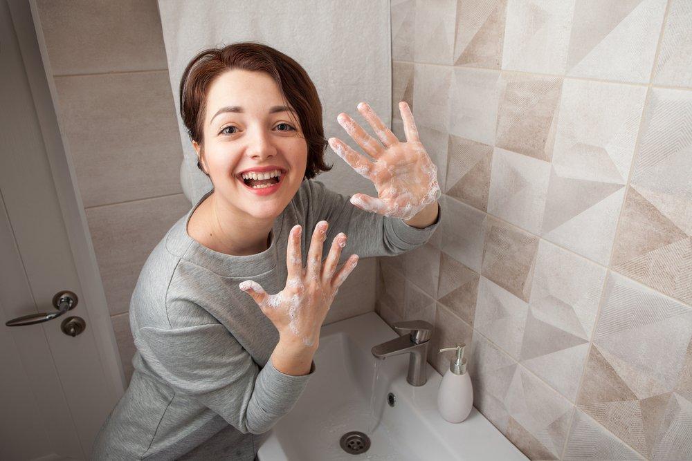 Принципы правильного мытья рук во время пандемии