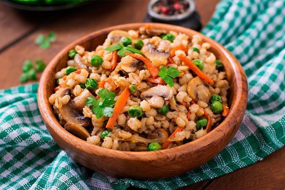 Рецепты диетических блюд на основе перловой крупы