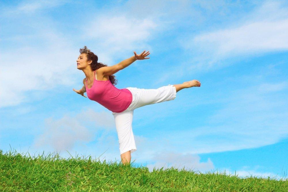 Фитнес для развития вестибулярного и мышечного аппаратов для лучшего сохранение равновесия