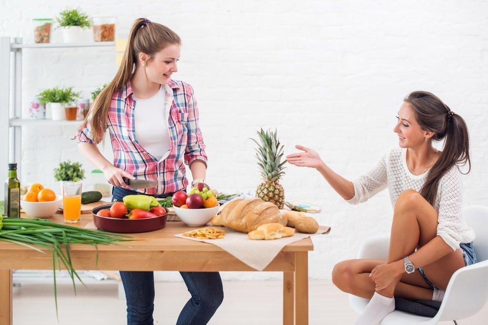 Рацион подростков: советы для родителей