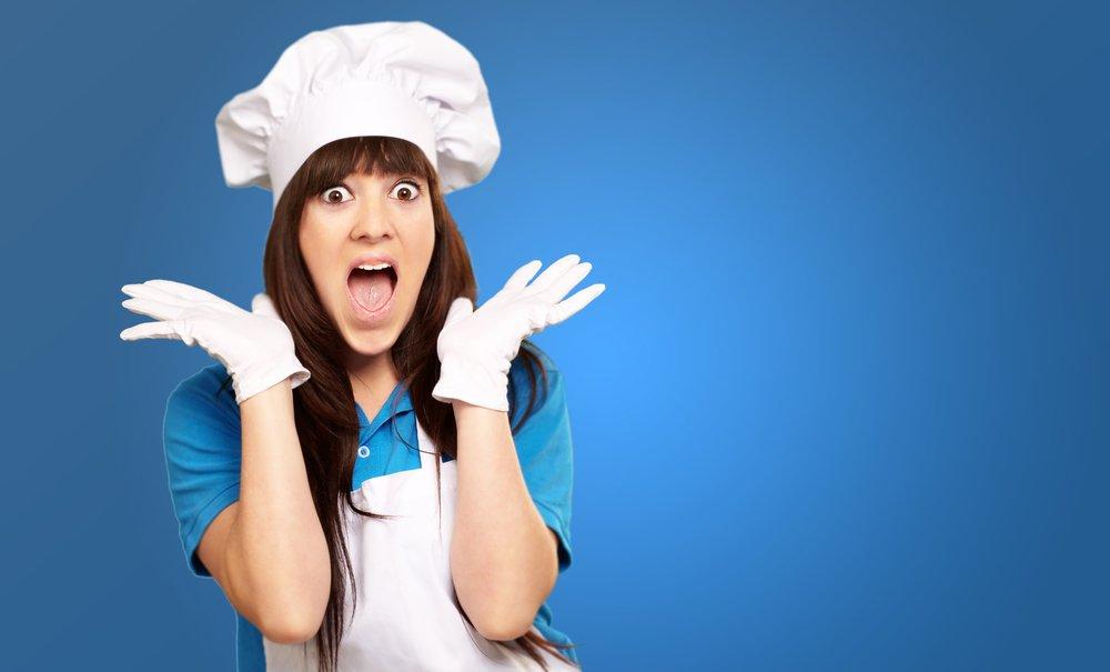 1. Магейрокофобия: страх приготовления пищи