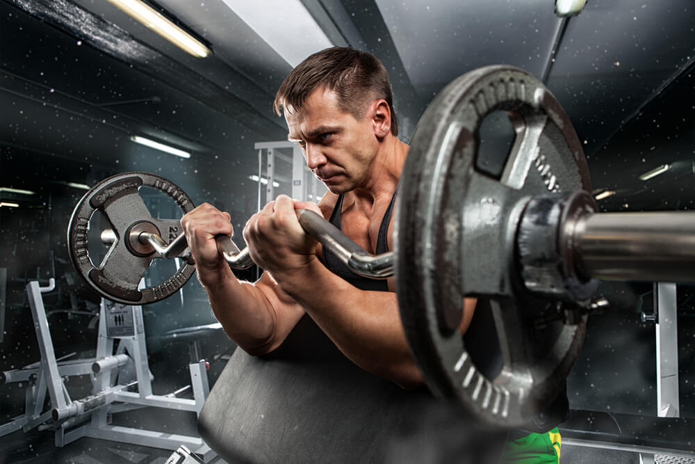 Схема фитнес-тренировки рук на массу