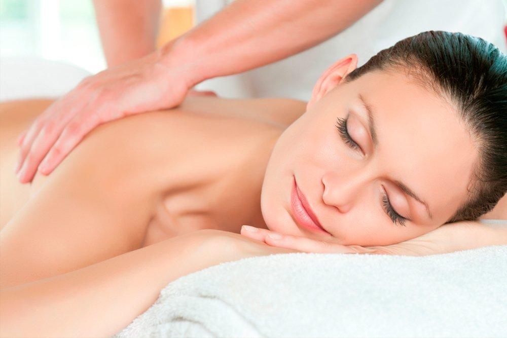 3. Успокаивающий массаж