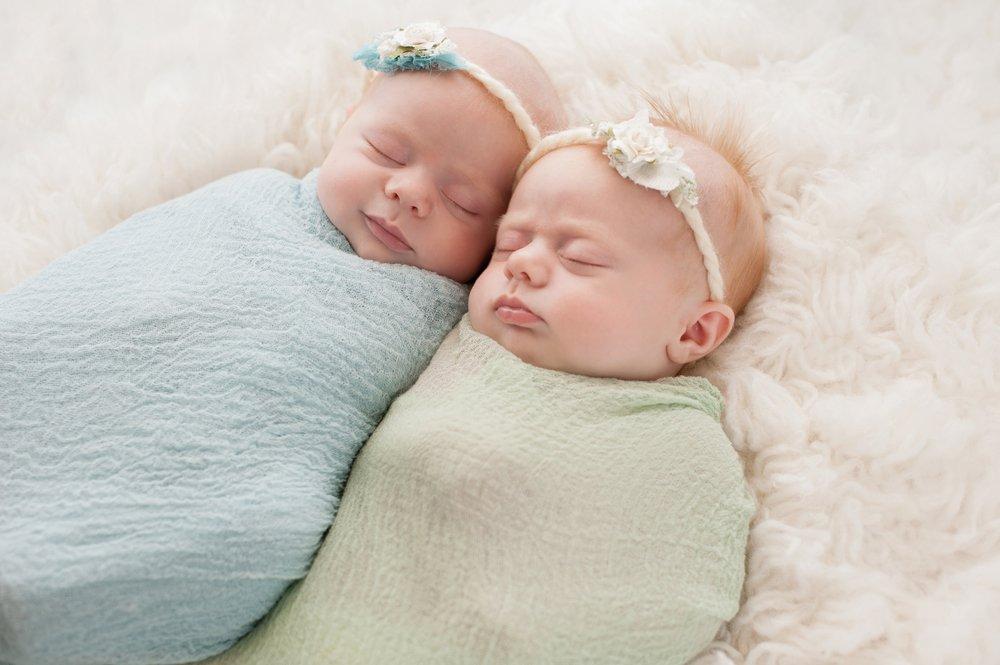 Близнецы поздравления новорожденным