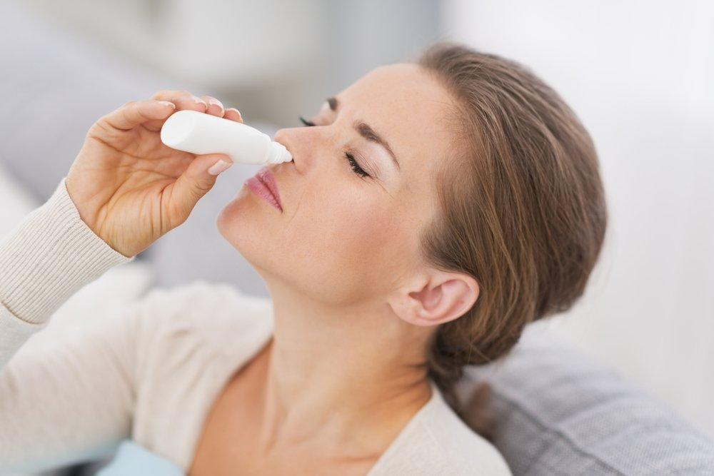 Сосудосуживающие капли от насморка: отит, температура