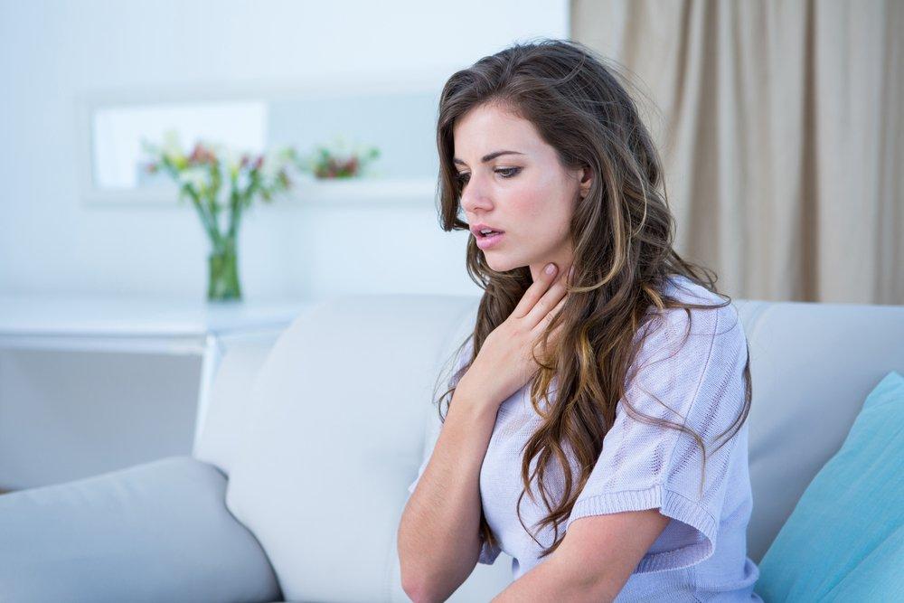 Затрудненное дыхание и аллергия