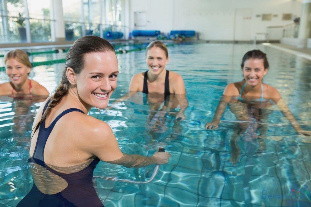 Польза бассейна как средства для похудения