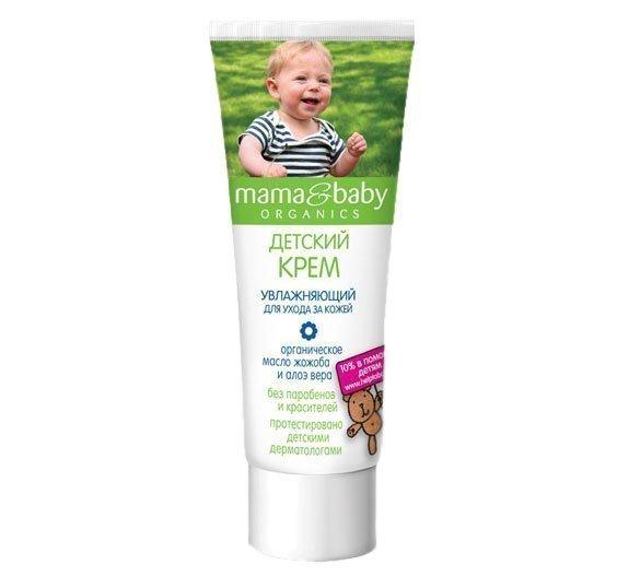 МАМА&BABY. Детский крем увлажняющий для ухода за кожей, 75 мл Источник: http: am-am.kiev.ua