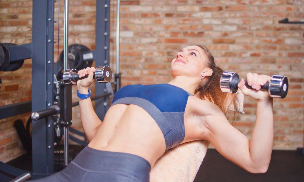 Развитие грудных мышц с помощью упражнений