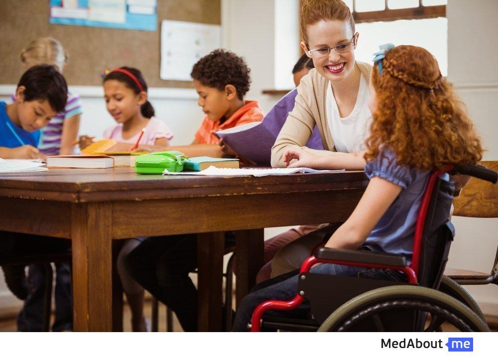 Обучение для детей-инвалидов
