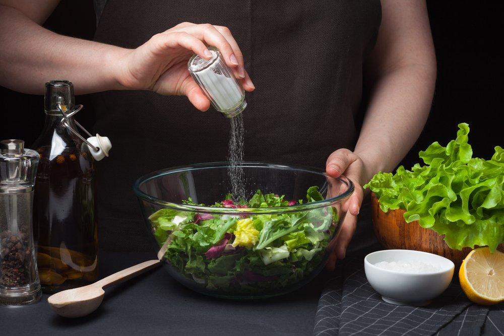 Снижение веса и норма потребления соли