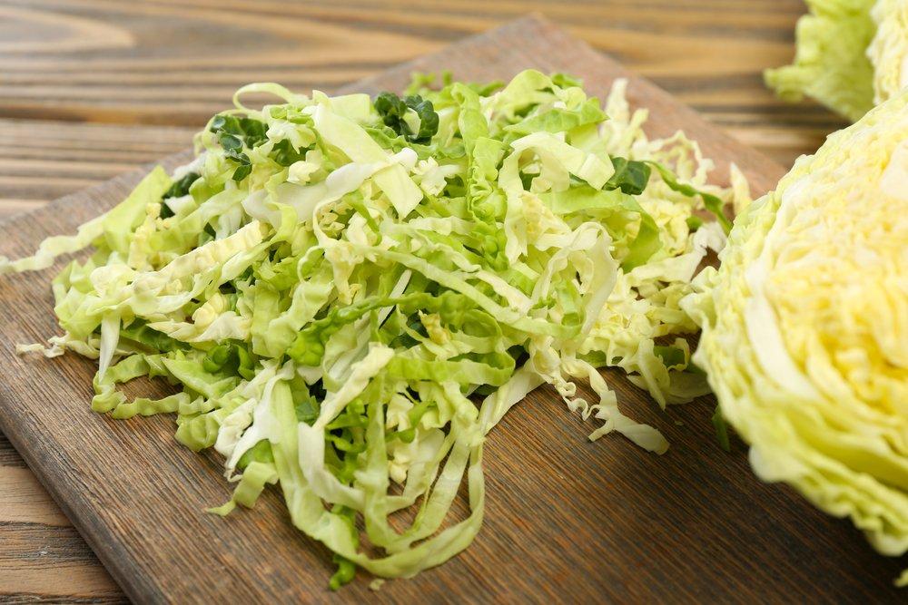 Рецепт приготовления салата с савойской капустой