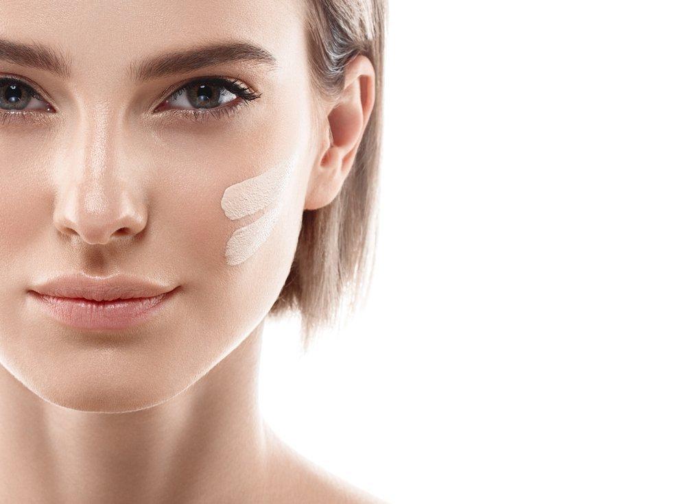 Разный цвет кожи у лица и шеи