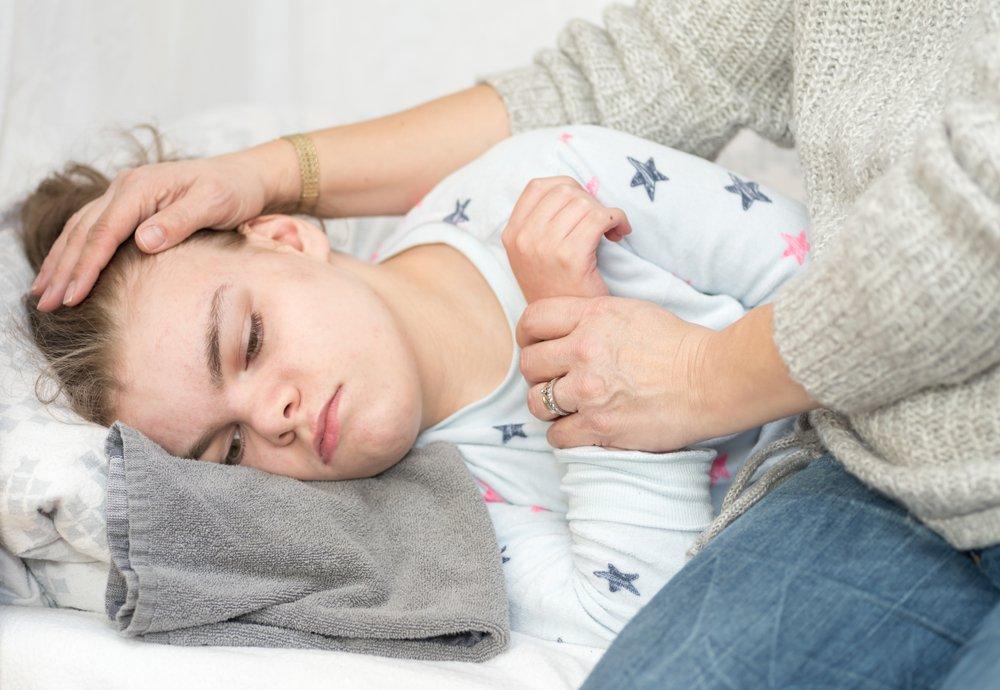 Клинические симптомы фебрильных судорог