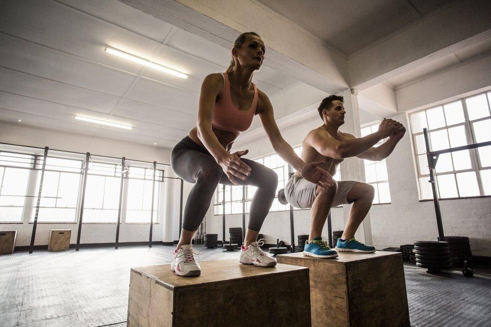 Базовые упражнения в кроссфите