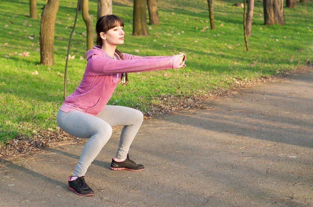 Комплекс домашних упражнений для укрепления мышц бедер