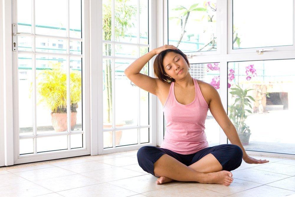Фитнес-упражнения при болях в шее