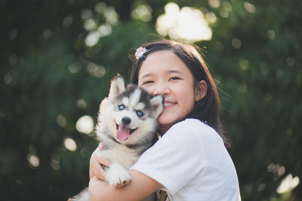 Животные научат ребенка ответственности