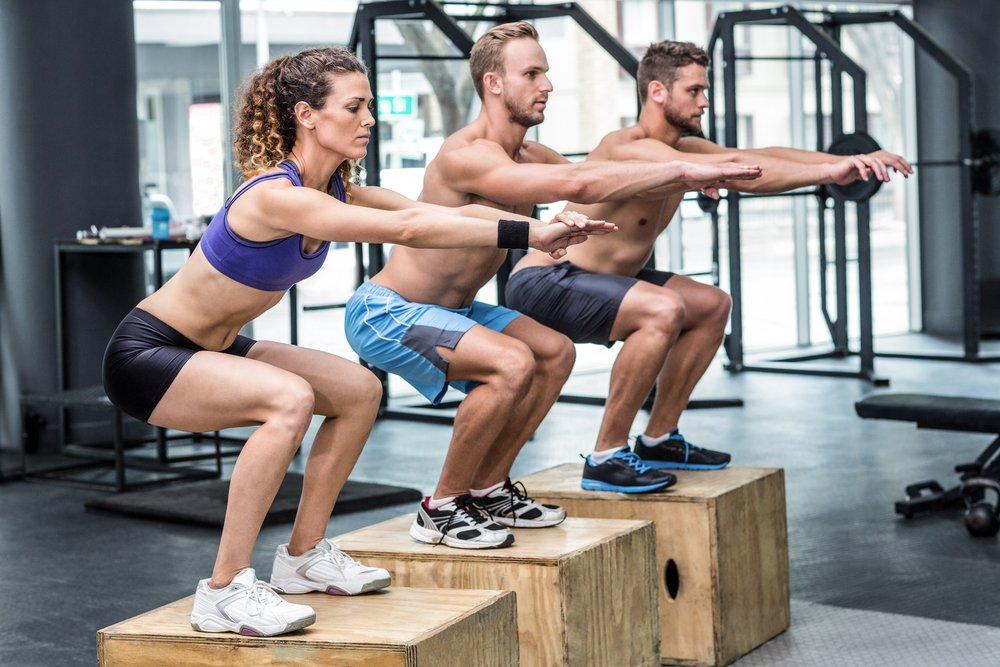 Комплекс плиометрических упражнений