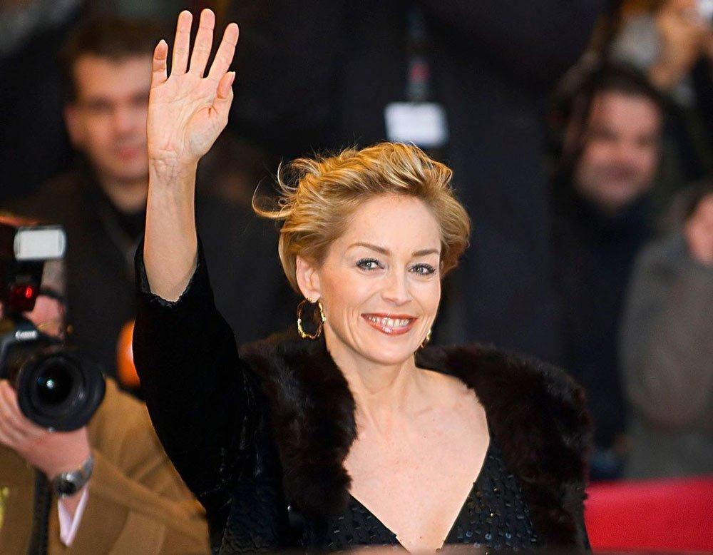На чем делает акцент в макияже Шерон Стоун? Источник: wikimedia.org