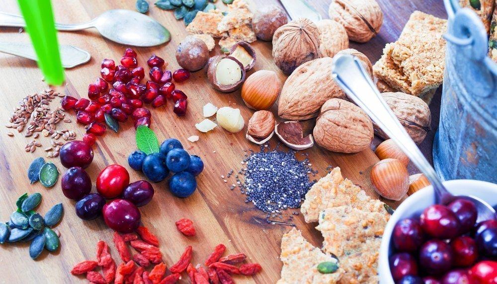 Какие продукты питания входят в суперфуд-диету?