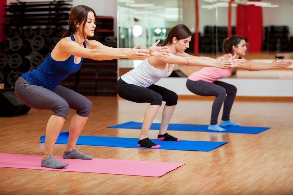 Фитнес упражнения в табата-тренинге