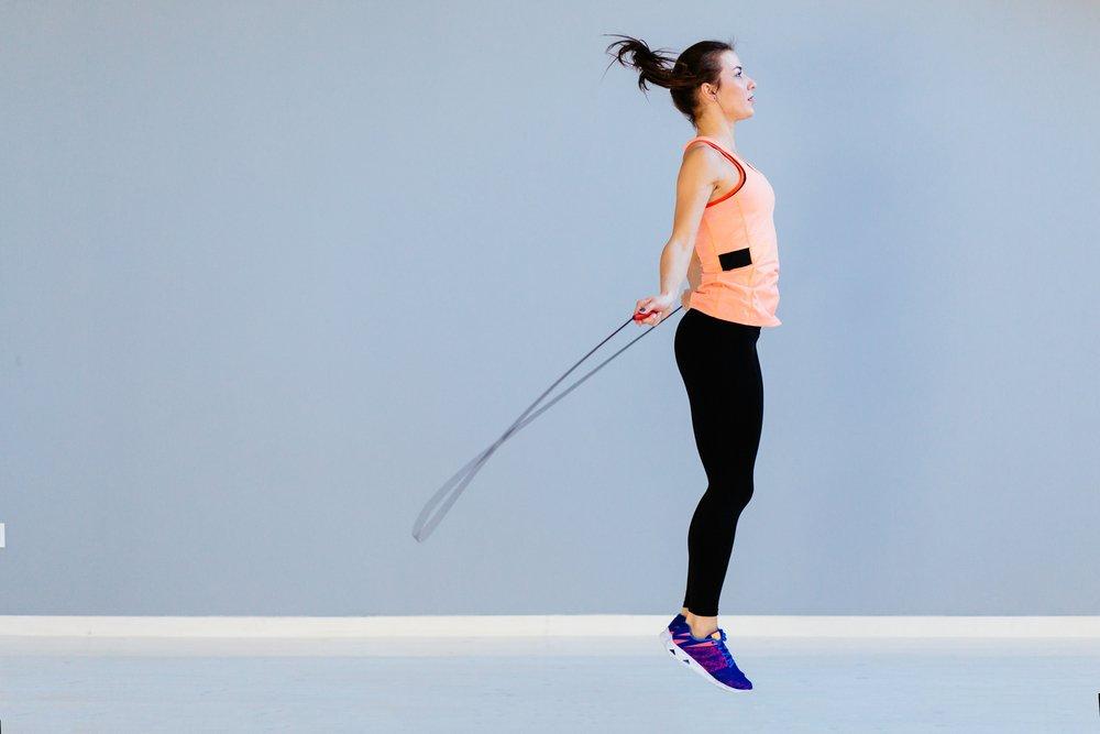 Фитнес похудение прыжки