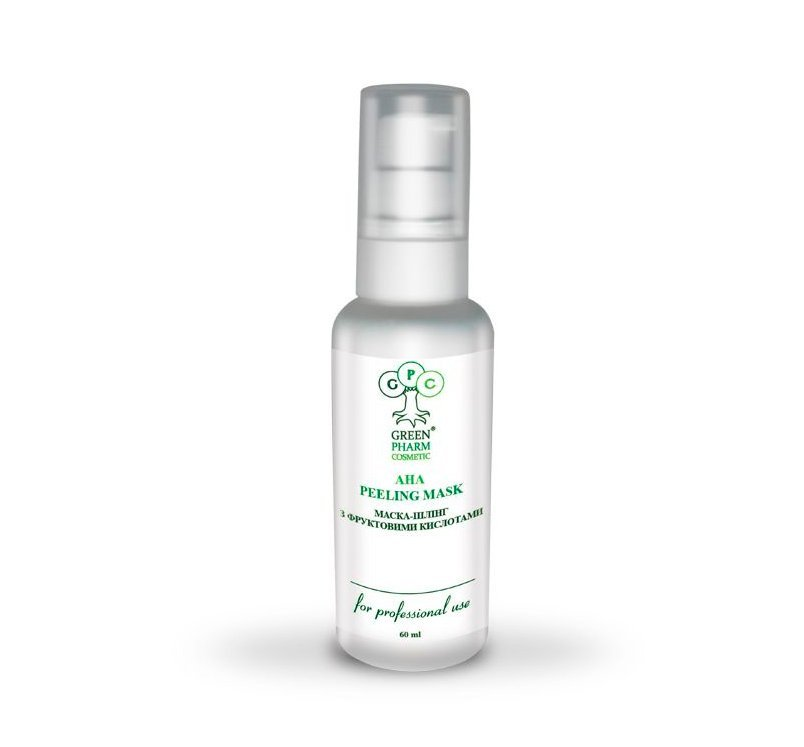 Маска-пилинг с фруктовыми кислотами, Green Pharm Cosmetic Peeling Masks Источник: vitess.com.ua