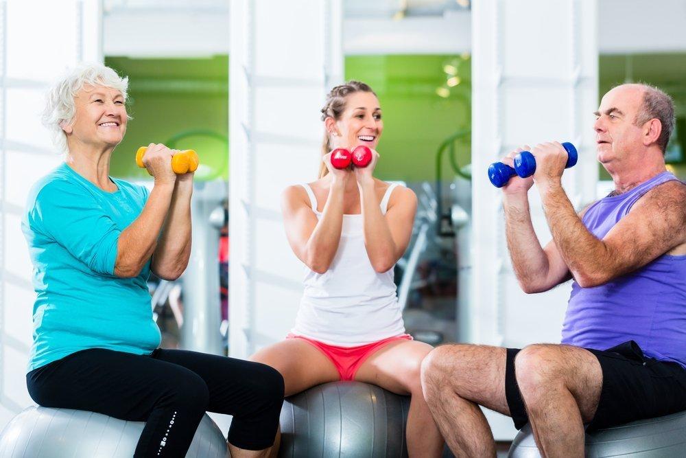 Примеры фитнес-упражнений