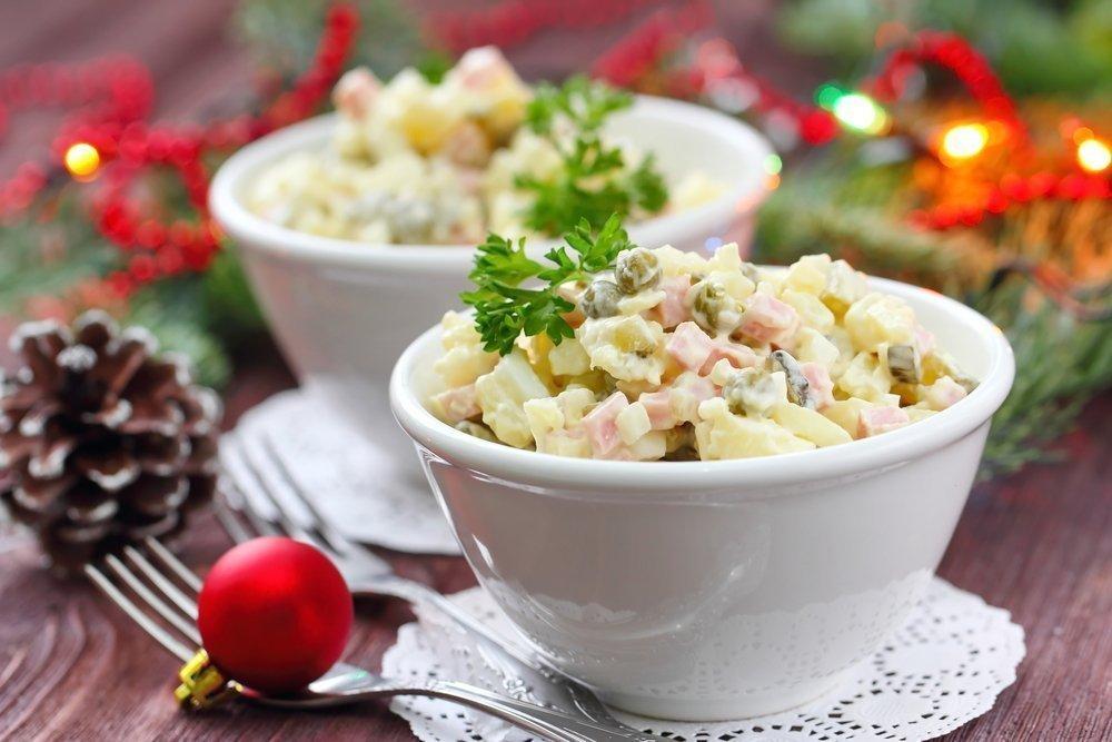 Майонез — любимая заправка для салатов