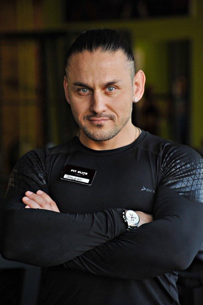 Эльдар Ахтямов, бакалавр адаптивной и лечебной физкультуры, фитнес-тренер