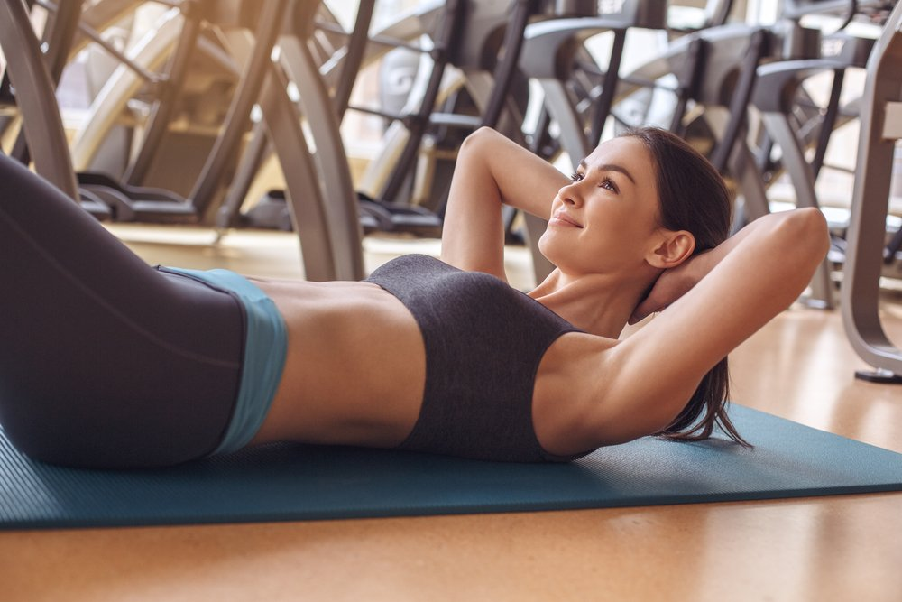Домашний комплекс упражнений для укрепления живота