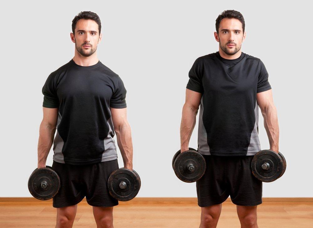 Шраги: вариации упражнения с гантелями