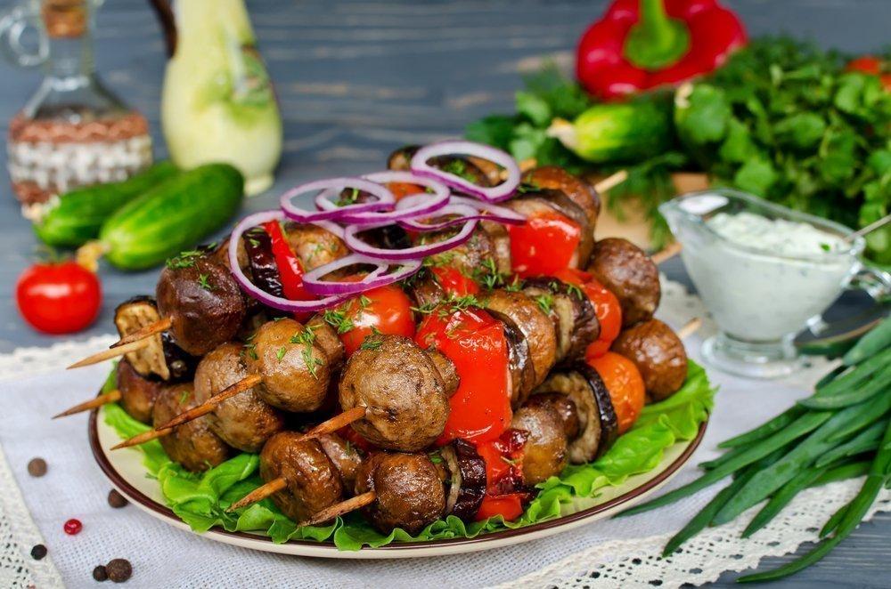 Готовим овощи и грибы