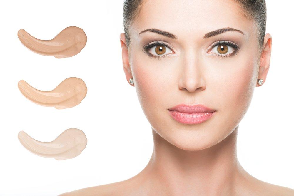 Тональная основа любой текстуры для нормальной кожи