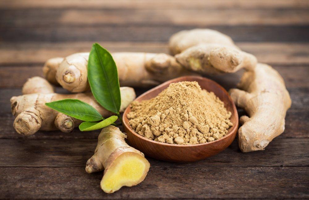 Корень хрена и имбиря — продукты питания со жгучим вкусом
