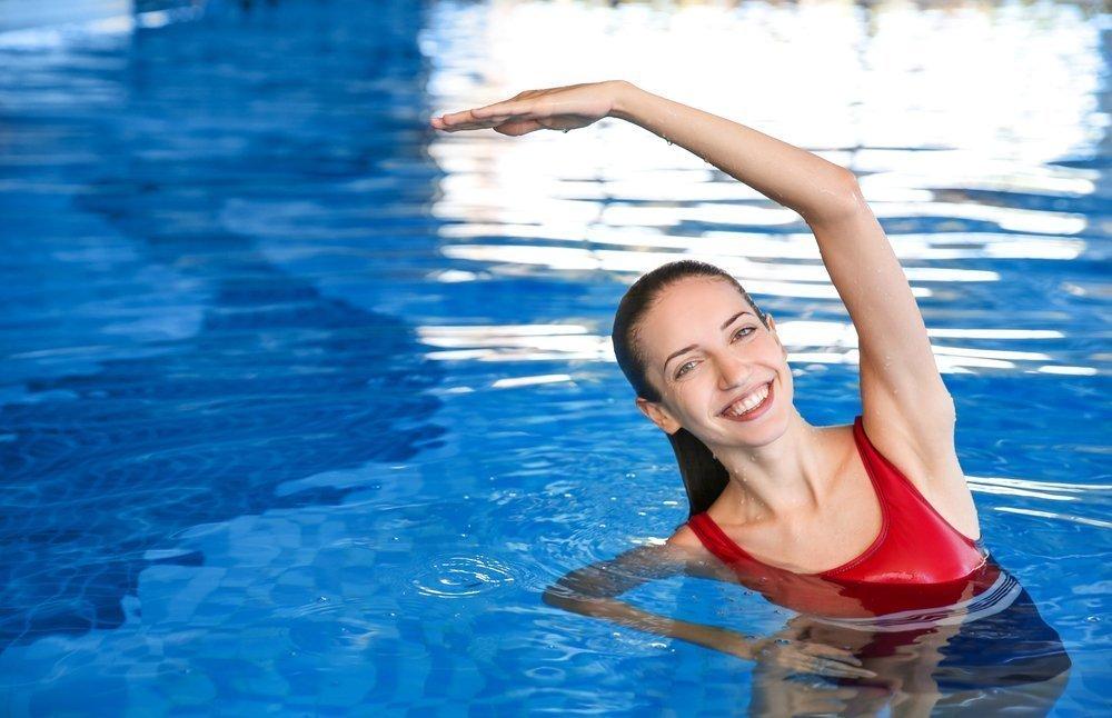 похудение в бассейне для мужчин