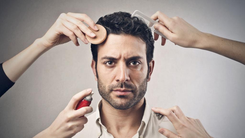 Лицо с обложки: особенности мужского мейк-апа
