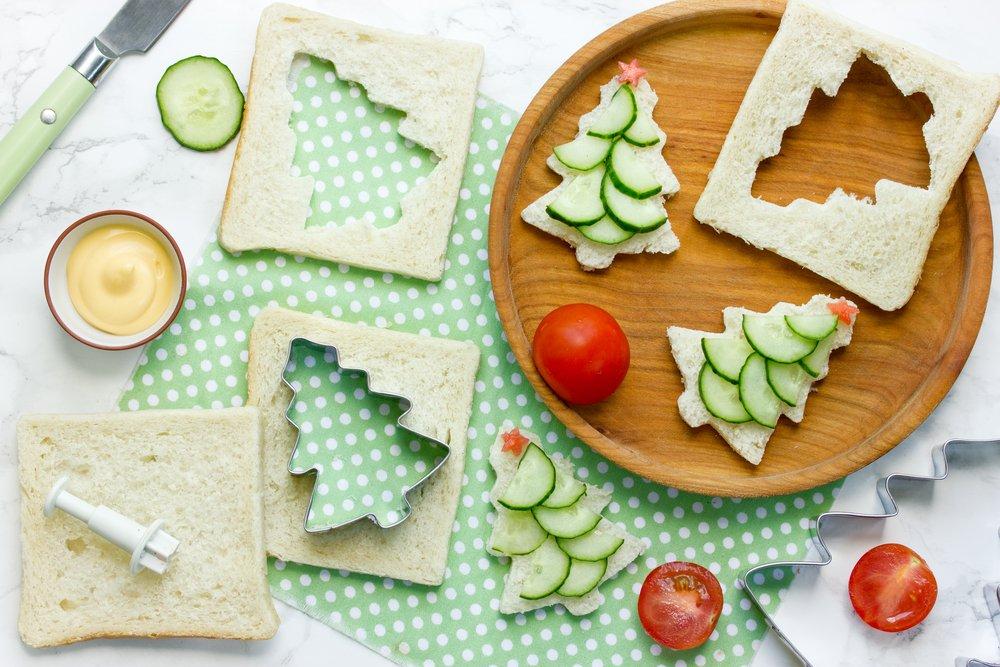Как приготовить нарядные елочки из овощей?