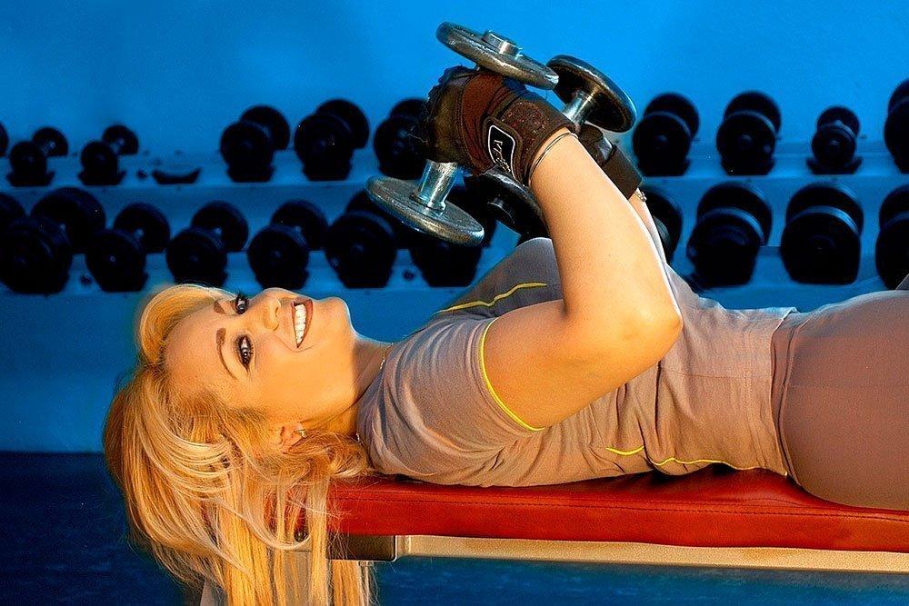 Силовые фитнес-упражнения для разных частей тела